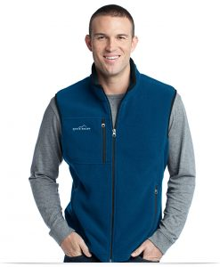 Personalize Embroidered Logo on Eddie Bauer Fleece Vest
