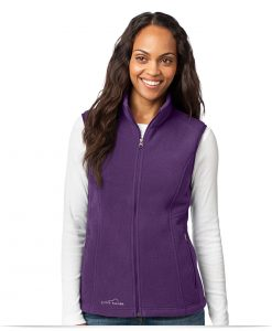 Personalized Eddie Bauer Ladies Fleece Vest
