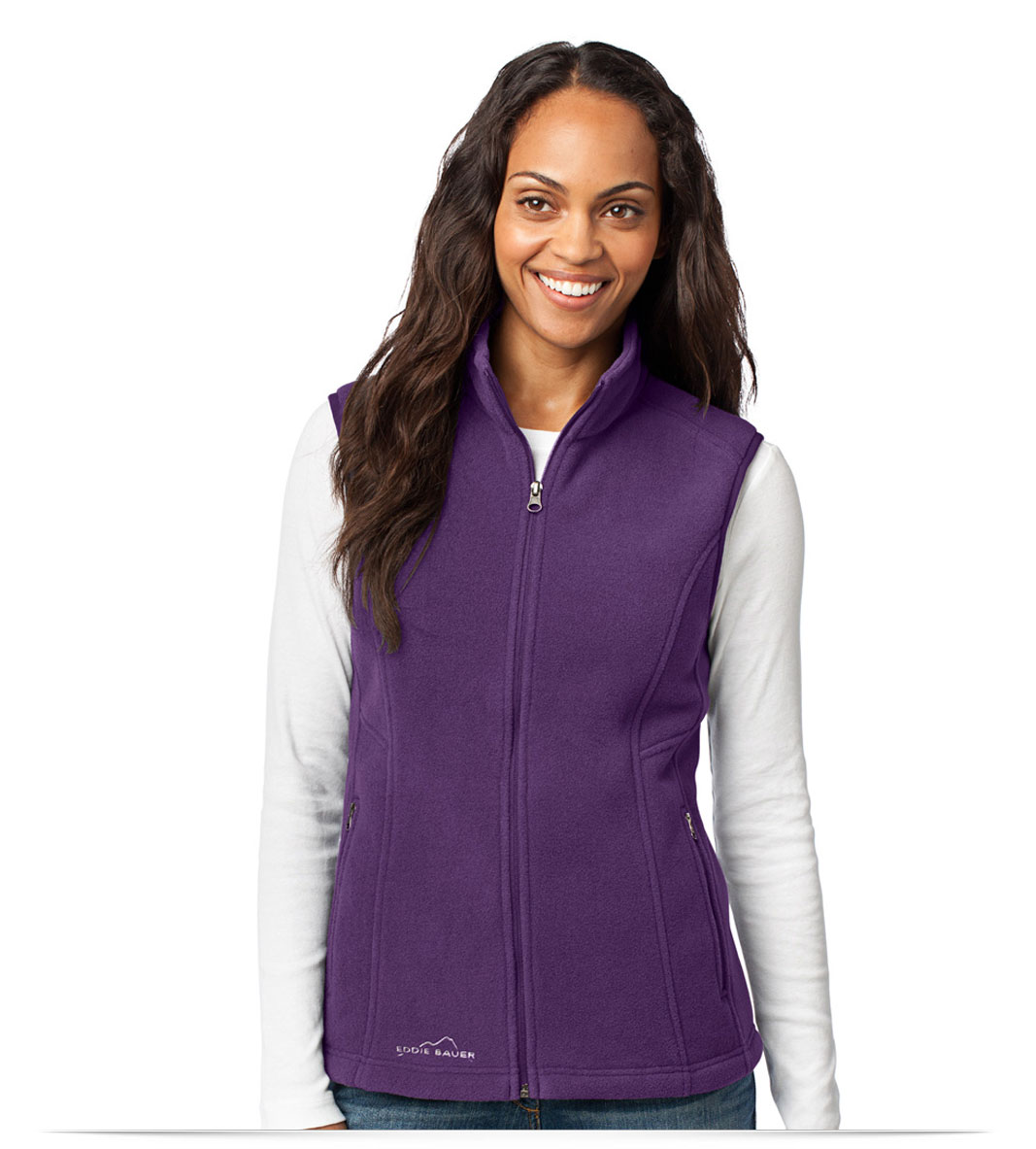 Personalized Eddie Bauer Ladies Fleece Vest