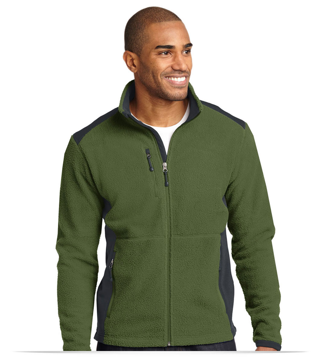 Custom Eddie Bauer Full-Zip Fleece Jacket