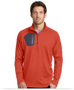 Custom Eddie Bauer 1/2-Zip Performance Fleece Jacket