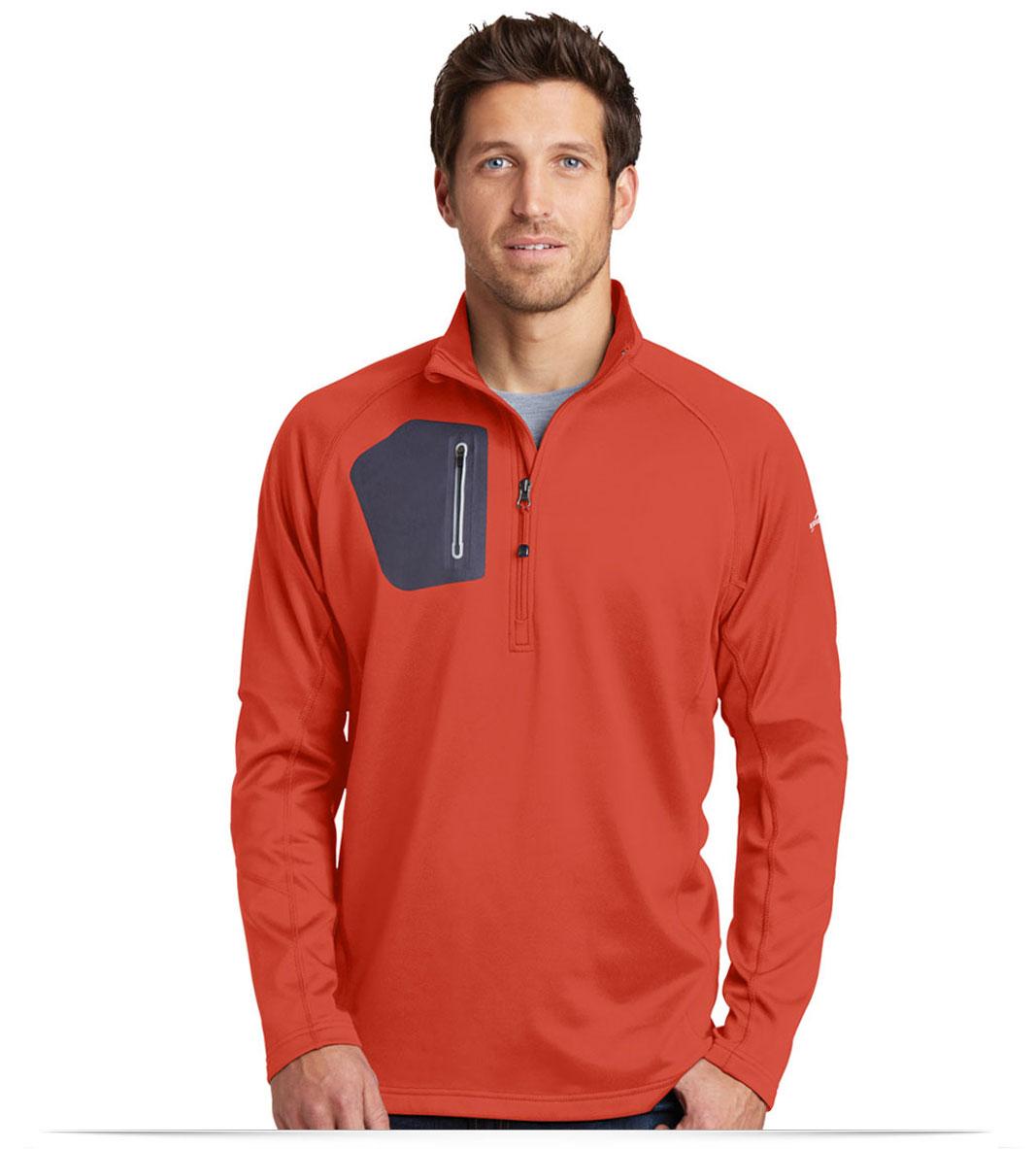 Custom Eddie Bauer 1/2-Zip Performance Fleece Jacket