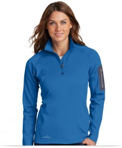 Customize Eddie Bauer Ladies 1/2-Zip Performance Fleece Jacket