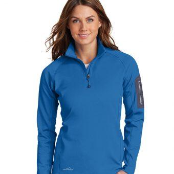 Customize Eddie Bauer Ladies 1/2-Zip Performance Fleece Jacket
