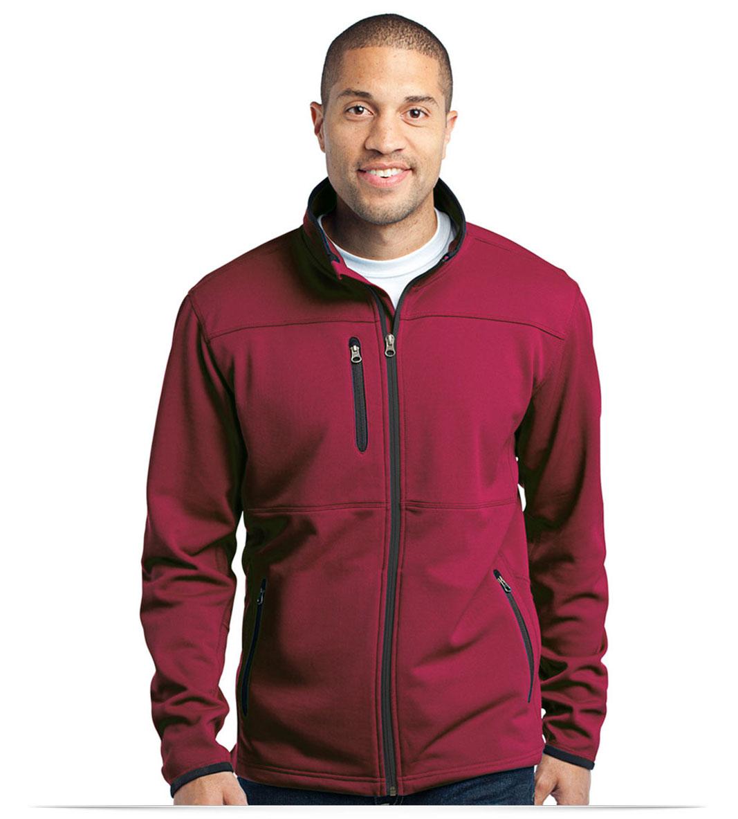 Custom Logo Pique Fleece Jacket