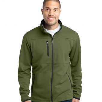 Tall Pique Fleece Jacket With Custom Logo