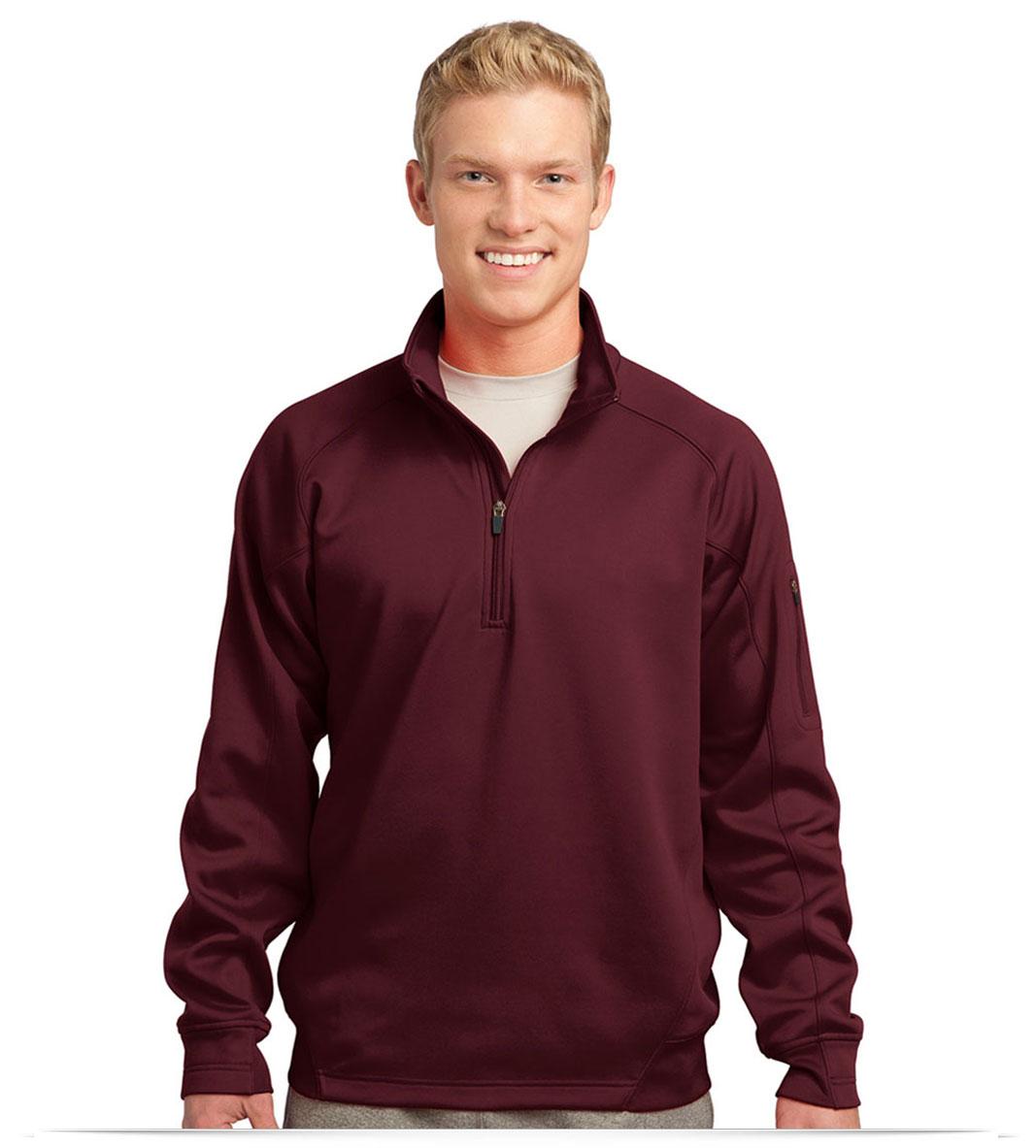 Custom Logo on Sport-Tek Tech Fleece 1/4-Zip Pullover
