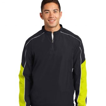 Design Sport-Tek Piped Colorblock 1/4-Zip Wind Shirt
