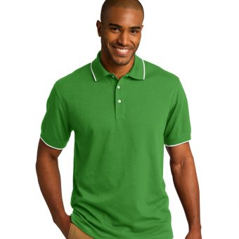 Customize Port Authority Rapid Dry Tipped Polo