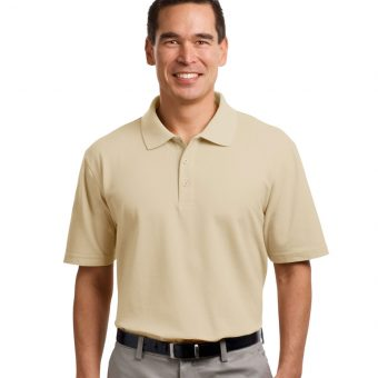 Customize Port Authority Tall Stain-Resistant Polo