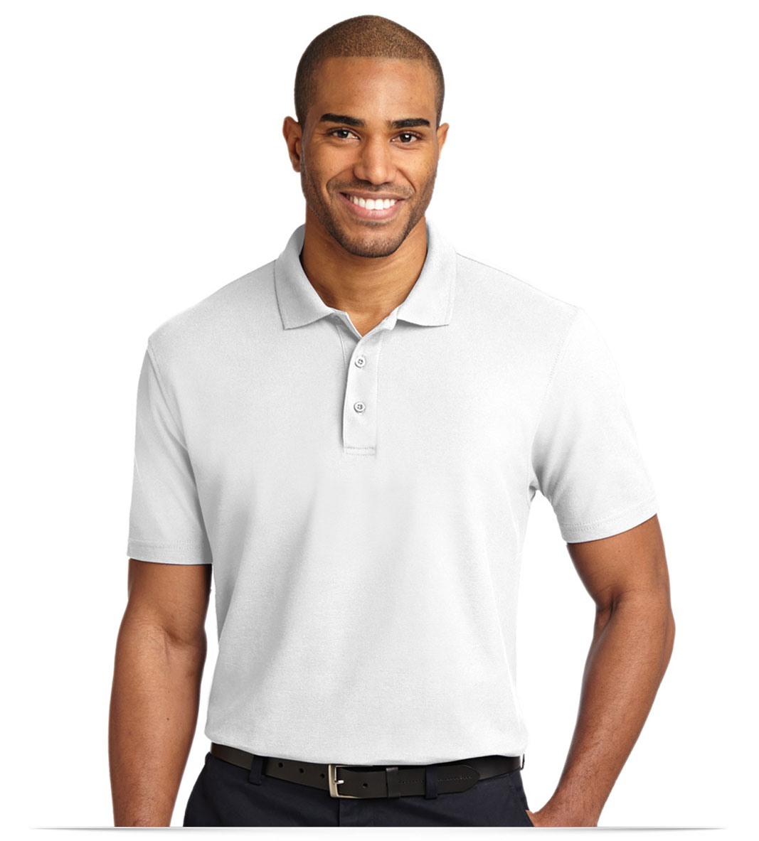 Personalized Port Authority Stain-Resistant Polo