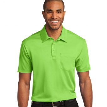 Customize Port Authority Silk Touch Pocket Polo