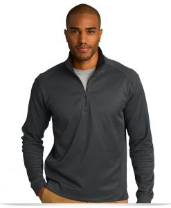 Customize Port Authority Textured 1/4-Zip Pullover