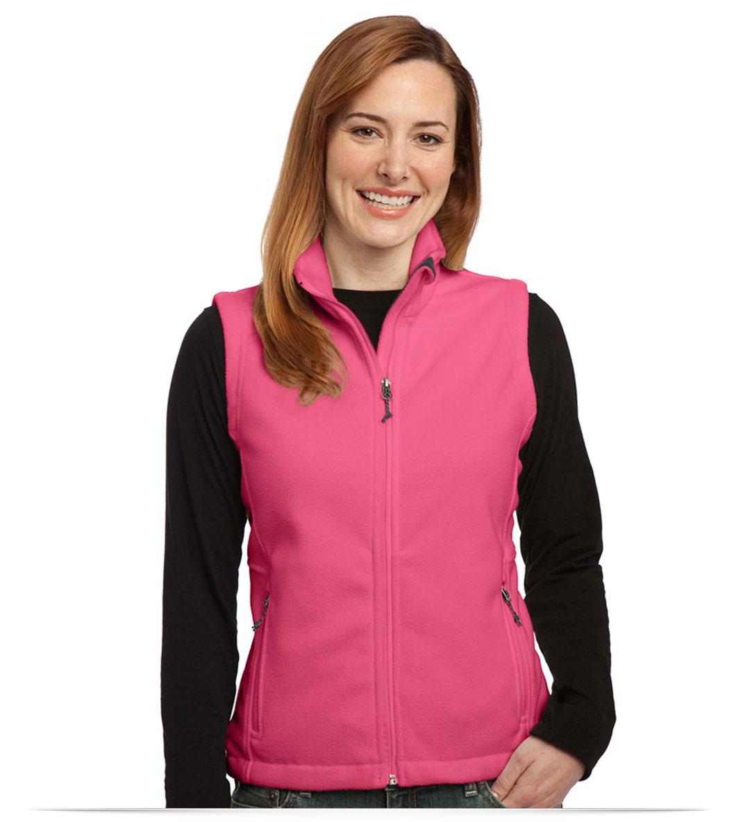 Customize Port Authority Ladies Value Fleece Vest