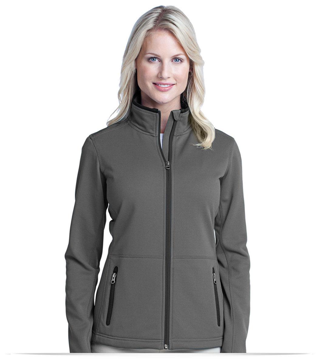 Personalized Port Authority Ladies Pique Fleece Jacket