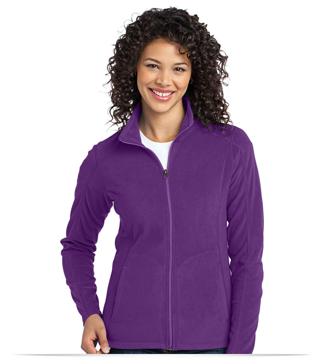 Customize Port Authority Ladies Microfleece Jacket