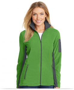 Embroidered Port Authority Ladies Summit Fleece Full-Zip Jacket