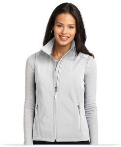 Embroidered Port Authority Ladies Core Soft Shell Vest