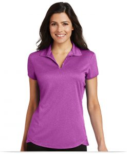 Customize Port Authority Ladies Trace Heather Polo