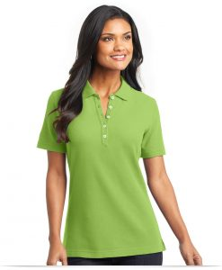 Personalized Port Authority Ladies EZCotton Pique Polo