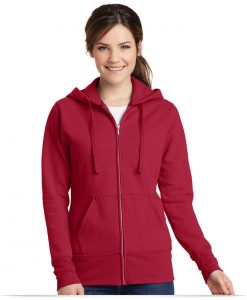 Customize Port and Company Ladies Classic Full-Zip Hoodie