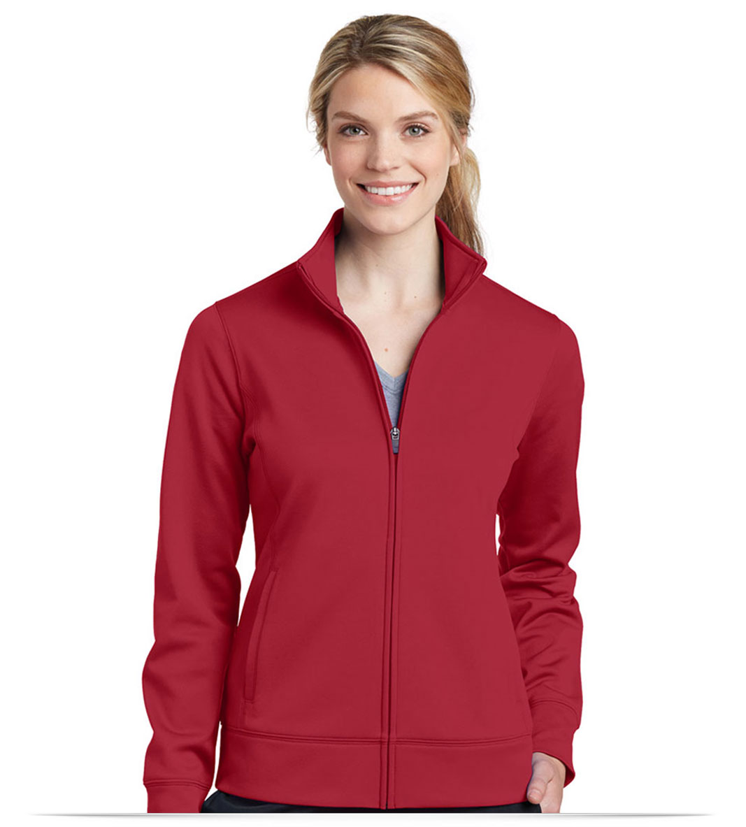 Personalized Sport-Tek Ladies Fleece Full-Zip Jacket