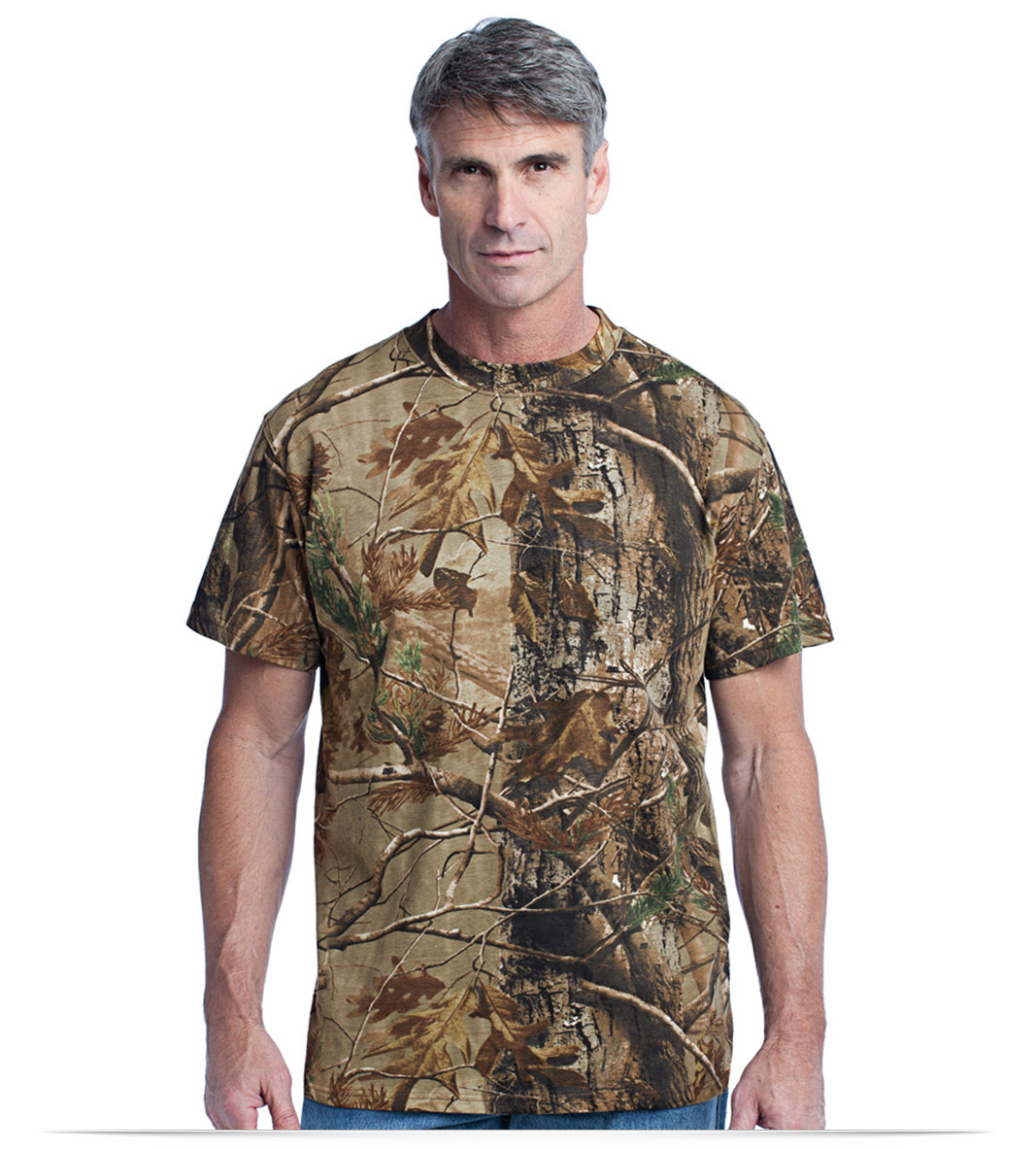 Custom Russell Outdoors 100% Cotton T-Shirt