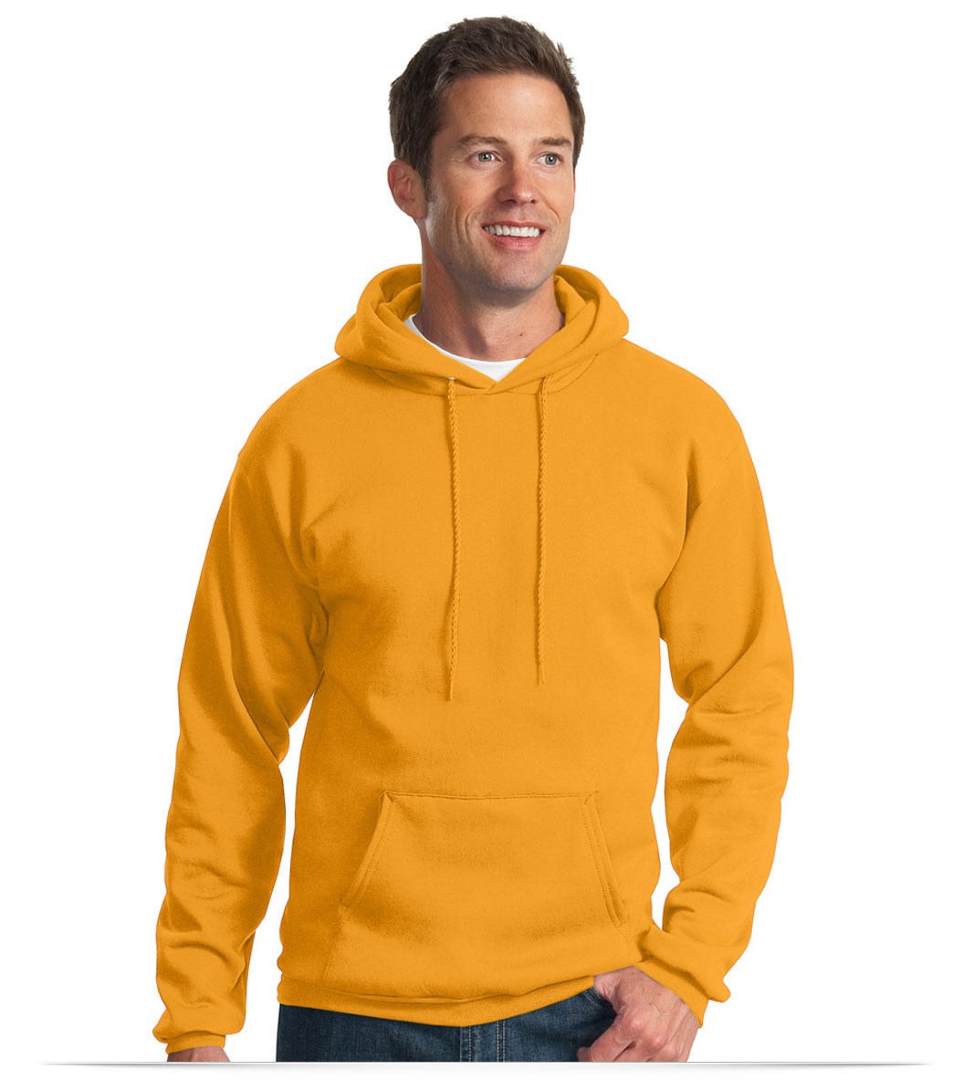 Custom Port and Company Tall Hooded Sweatshirt