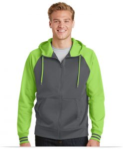 Personalized Sport-Tek Varsity Fleece Full-Zip Hooded Jacket