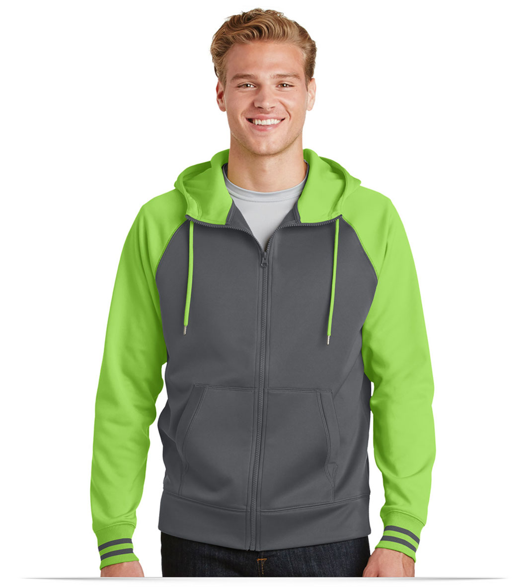 Personalized Sport-Tek Varsity Fleece Full-Zip Hooded Jacket