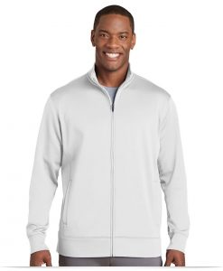 Personalize Logo on Sport-Tek Sport-Wick Fleece Full-Zip Jacket