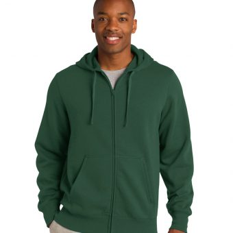 Sport-Tek Full-Zip Hooded Sweatshirt