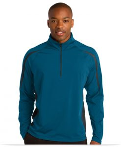 Customize Sport-Tek 1/2-Zip Colorblock Pullover