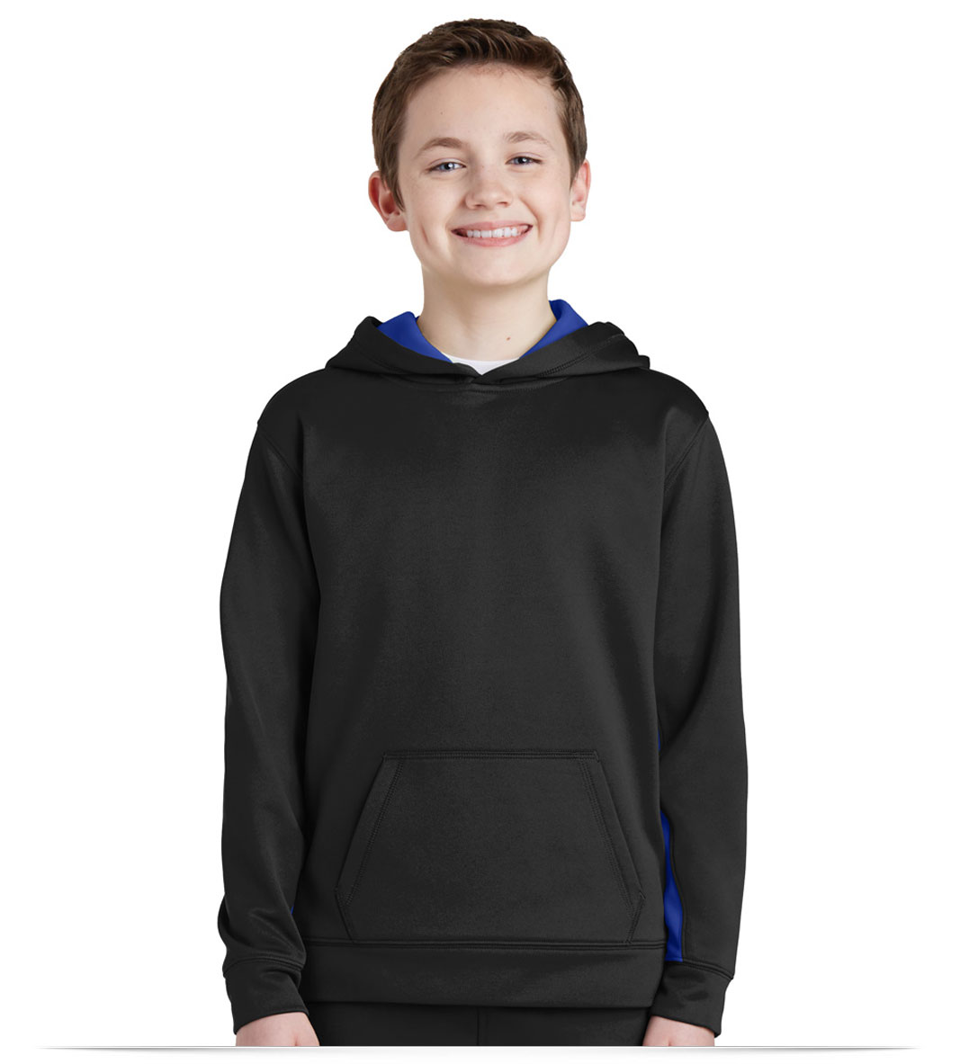 Customize Sport-Tek Youth Colorblock Hooded Pullover
