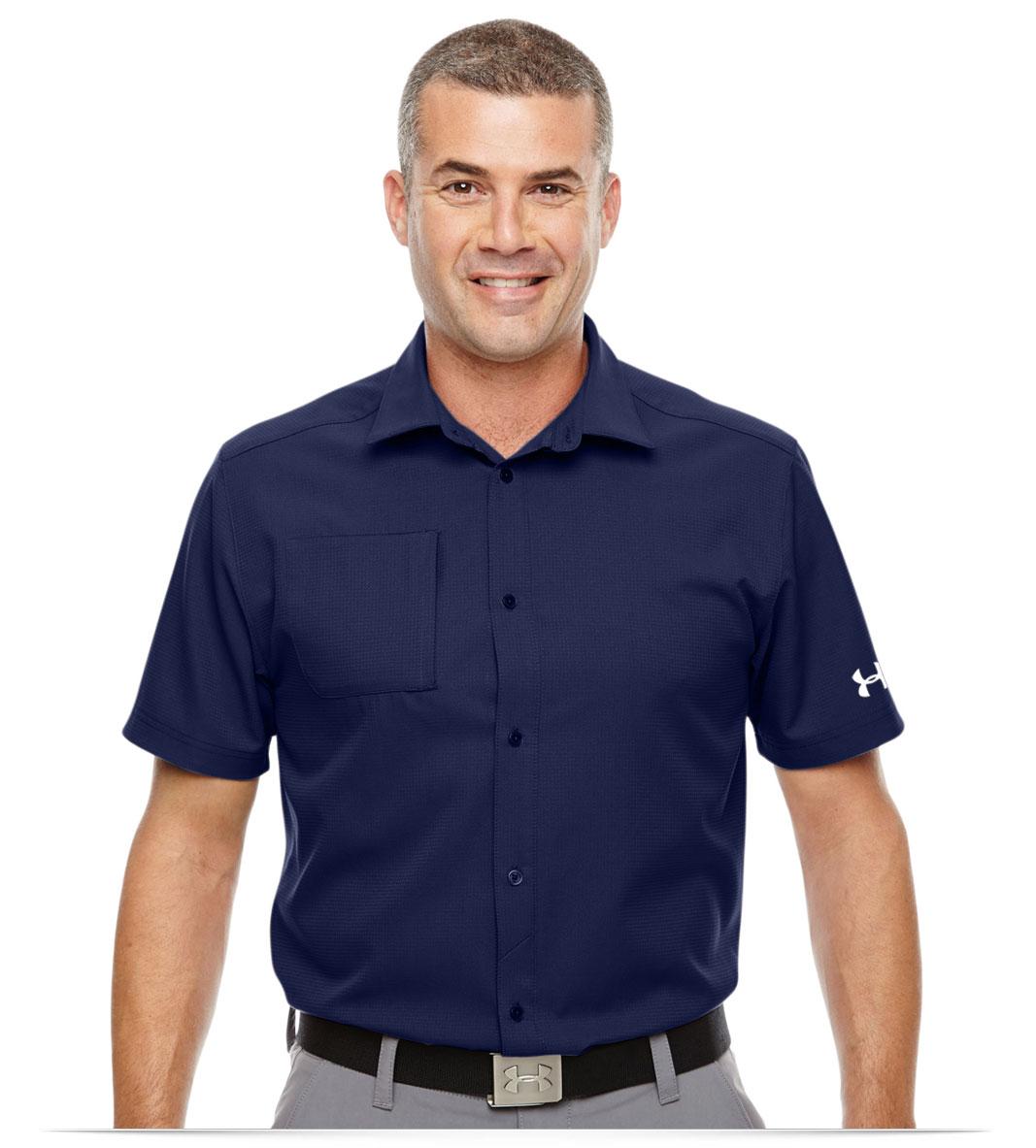 Men's Custom Logo Under Armour Polo Shirt