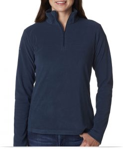 Custom Columbia Ladies 1/4-Zip Fleece