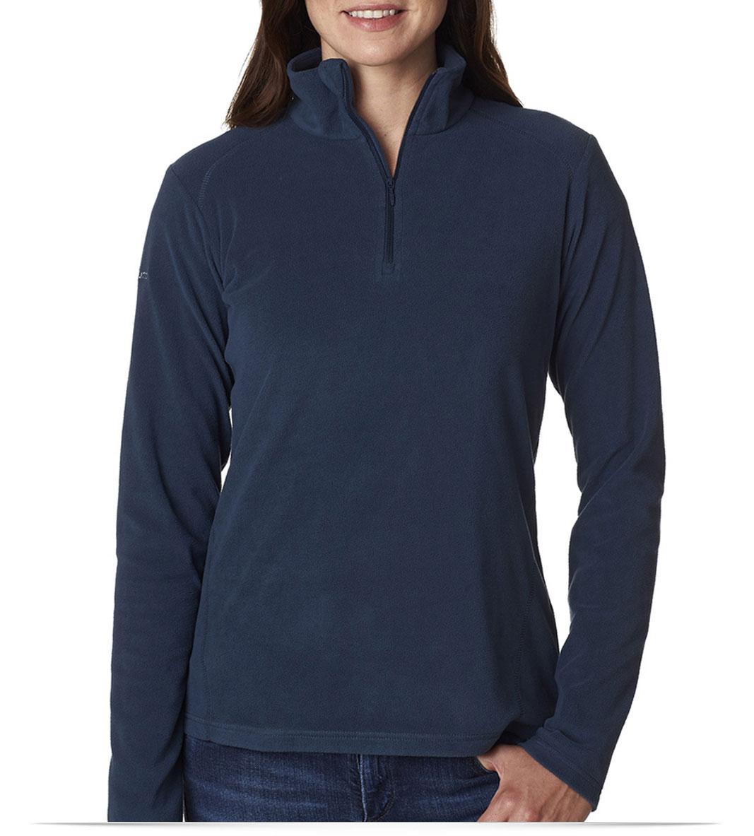 Custom Columbia Ladies 1/4-Zip Fleece