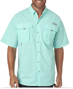Personalized Columbia Men's Bahama II Short-Sleeve Shirt