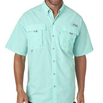 Personalized Columbia Men's Bahama II Short-Sleeve Shirt