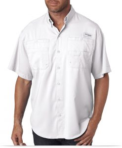 Custom Columbia Men's Short-Sleeve Shirt