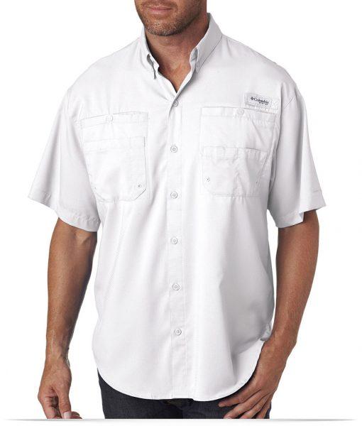 Custom Columbia Men's Short-Sleeve Shirt