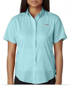 Design Columbia Ladies Short Sleeve Shirt