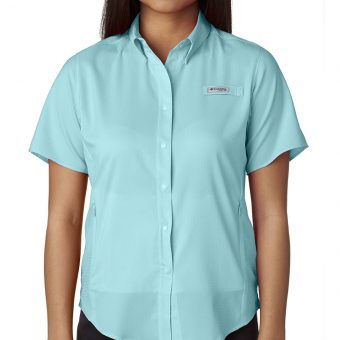 Design Columbia Ladies Short Sleeve Shirt