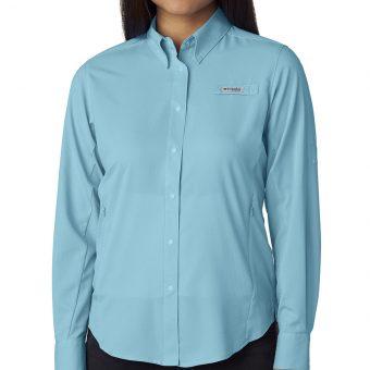 Custom Columbia Ladies Long-Sleeve Shirt