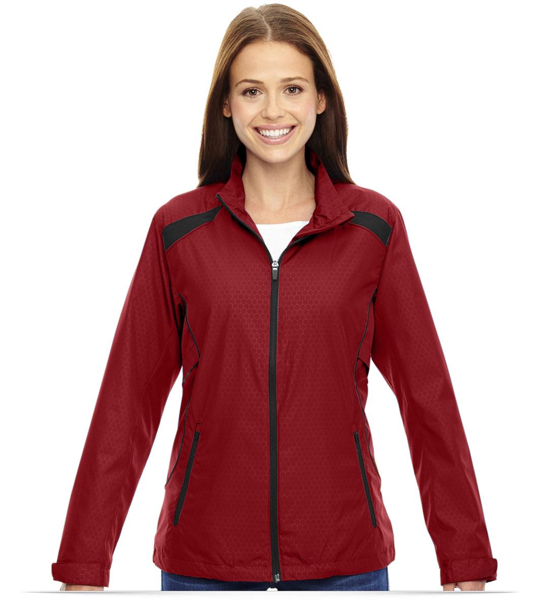 Custom Logo North End Ladies Polyester Jacket