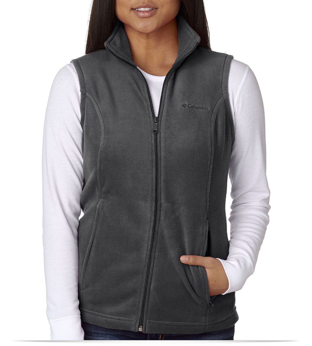 Personalized Columbia Ladies Benton Springs Vest