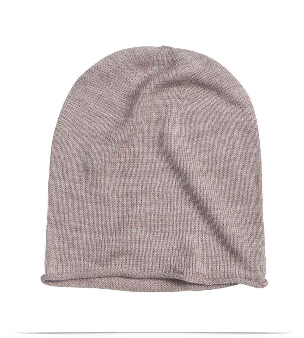 Custom winter knitted hat, embroidered logo design, acrylic from Dorami  Limited