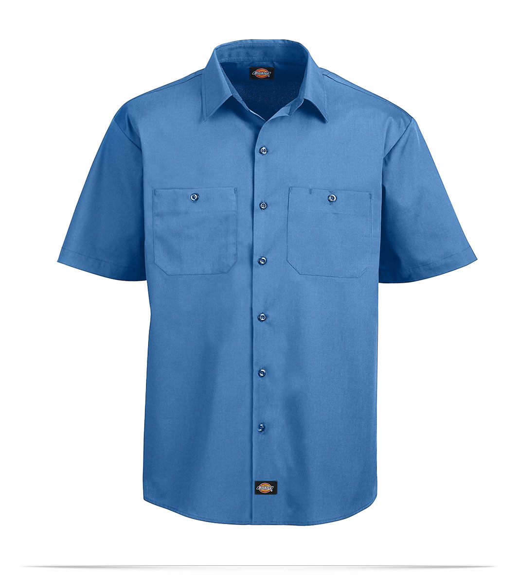 Design embroidered dickies worktech mesh performance work for Embroidered dickies work shirts