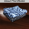 Custom Animal Print Fleece Blankets