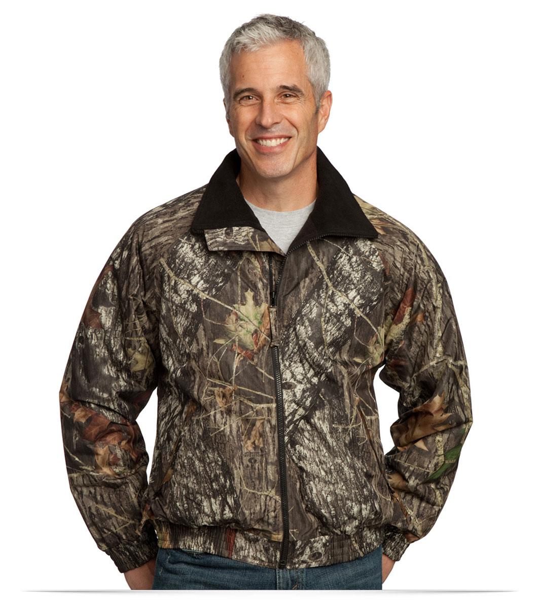 Custom Logo Camouflage Jacket